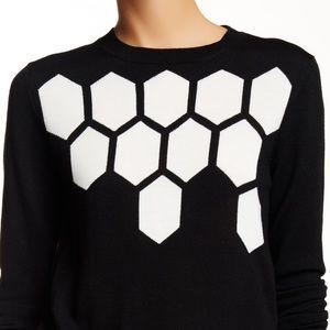 Trina Turk Honeycomb Sweater